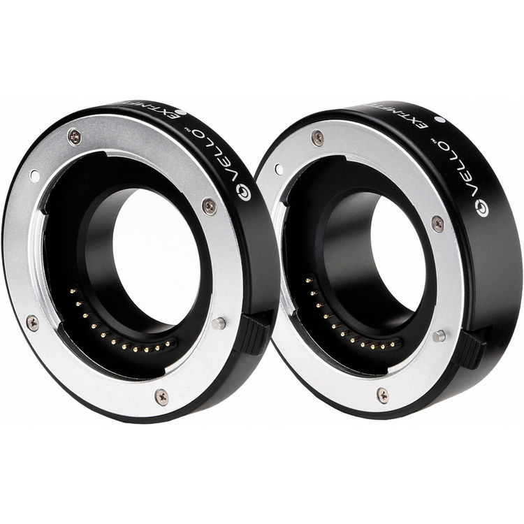 Vello Deluxe Extension Tube Set MFT