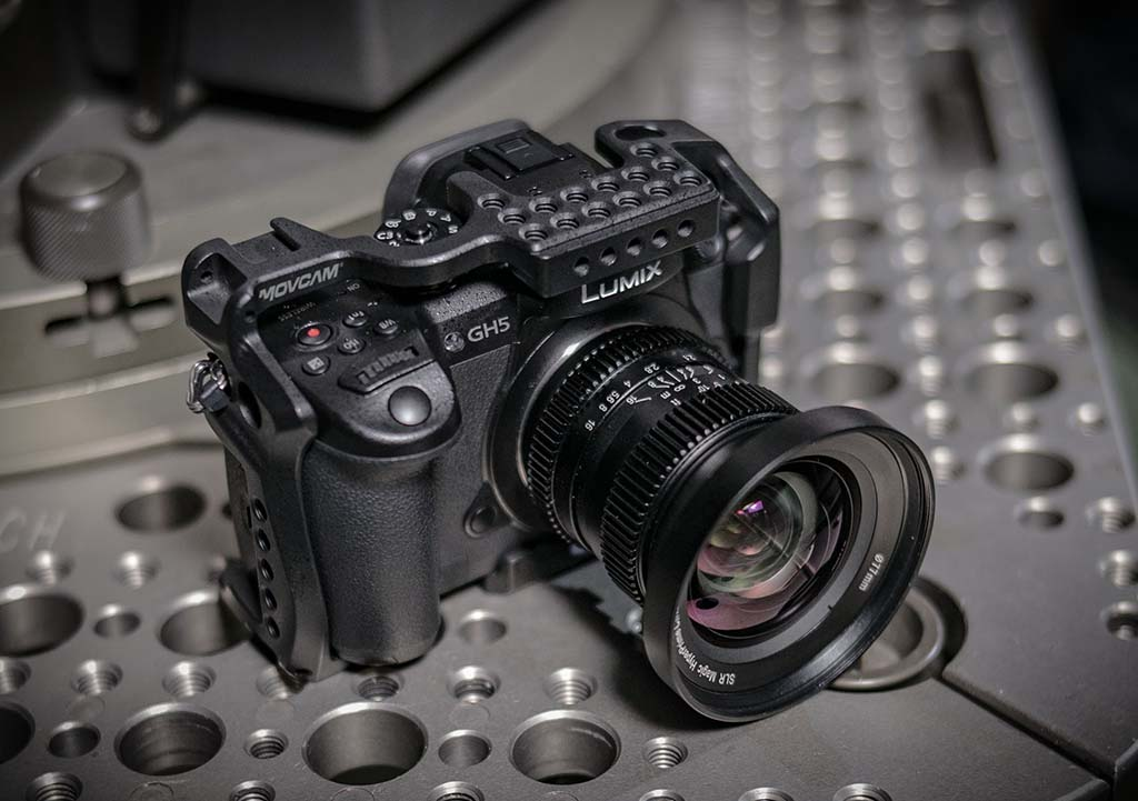 MOVCAM DEBUTS CAMERA SUPPORT CAGES FOR PANASONC VARICAM LT