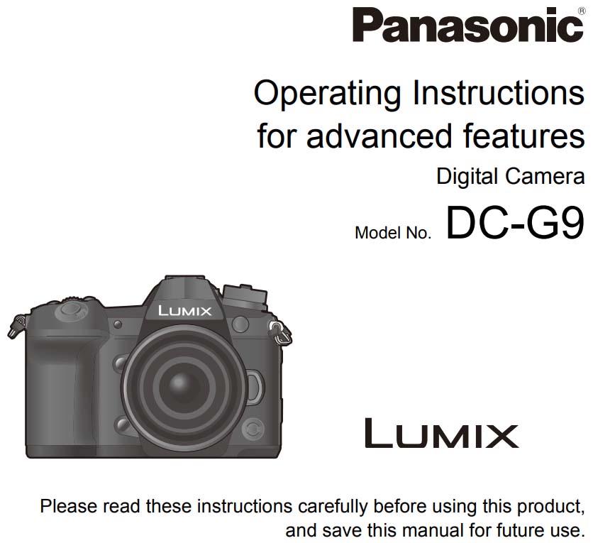 panasonic g9 users manual 43addict rh 43addict com panasonic camera manual pdf panasonic 4k camera user manual
