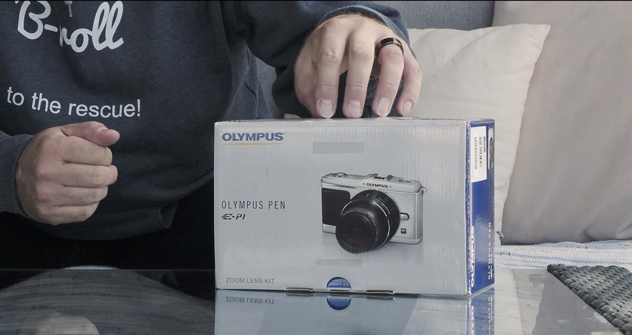 The Camera That Started it All The Olympus E-P1 Unboxed in