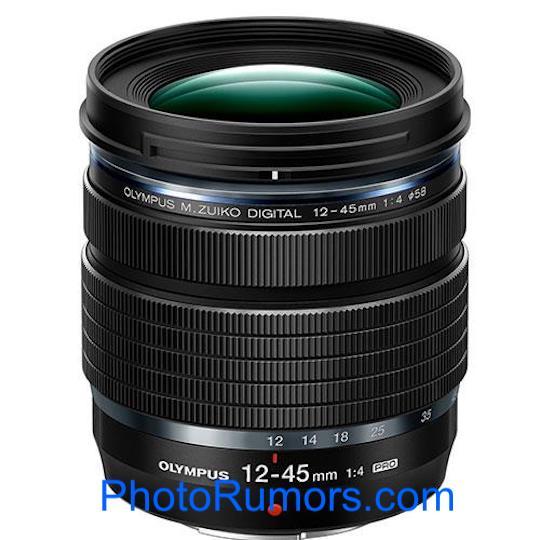 Olympus M.Zuiko Digital ED 12-45mm f/4.0 PRO Press Leak - 43addict